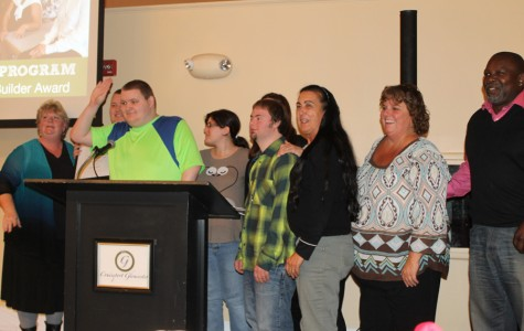 Transition program honored for community service