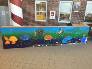 Art club shows talent with new mural