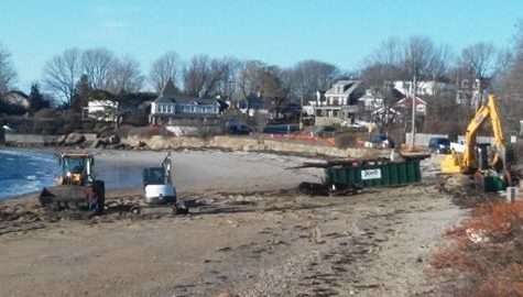 Niles Beach closed due to wreckage cleanup