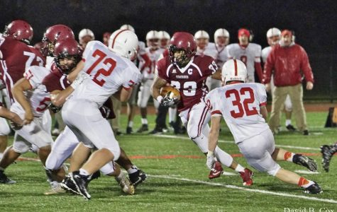 Football team advances to semifinals
