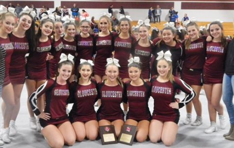 Gloucester cheerleaders take home second