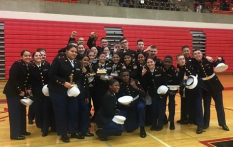 Drill Team takes home first at PA meet, free ticket to Nationals