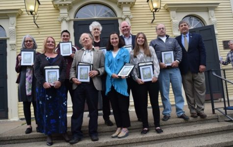 Belcher and McLean honored for service work