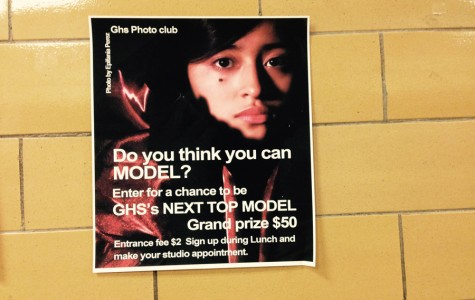 Huria Velasquez  poses for the GHS modeling contest