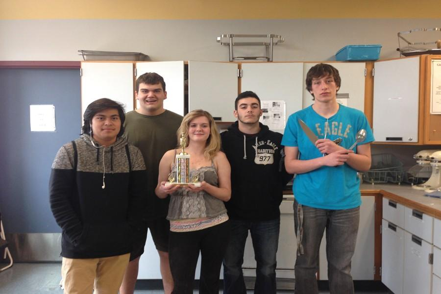 GHS+culinary+squad+%28from+left%29+Roy+Macario%2C+Noah+Hillier%2C+Brittany+Williams%2C+Noah+Aiello%2C+and+Dylan+Aptt