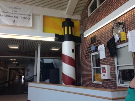 The finished lighthouse