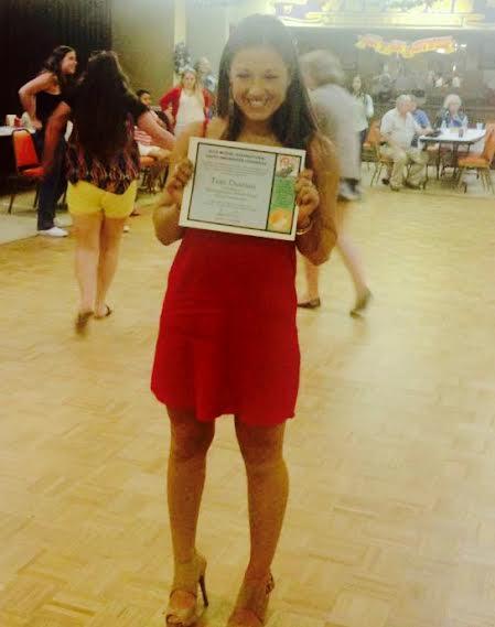 Tess Destino wins youth awareness award