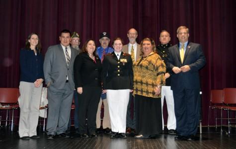 Geraghty awarded JROTC Legion of Valor Bronze Cross