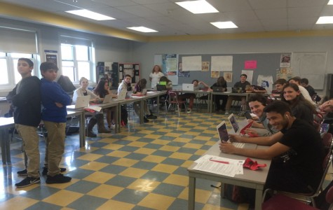 Mrs. Grassetti's freshmen DECA  class