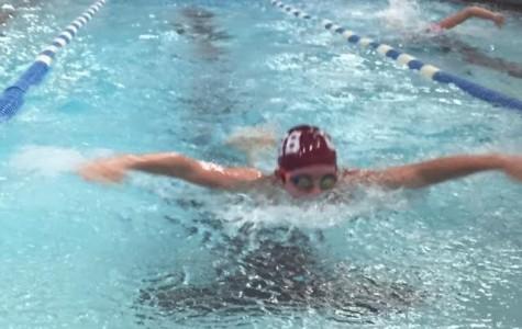 Swim team splashes into new season