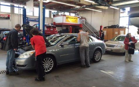 Auto shop services seniors and veterans