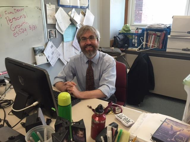 English teacher James Cook will lead the high school as principal next year