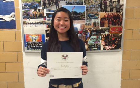 Gloucester student Soo Ae Ono honored for service