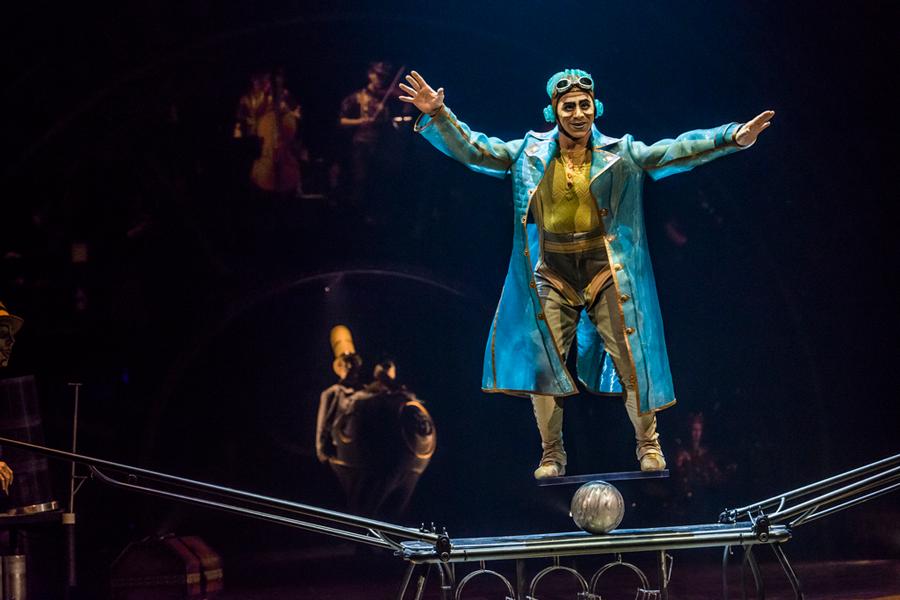 Cirque du Soleil brings