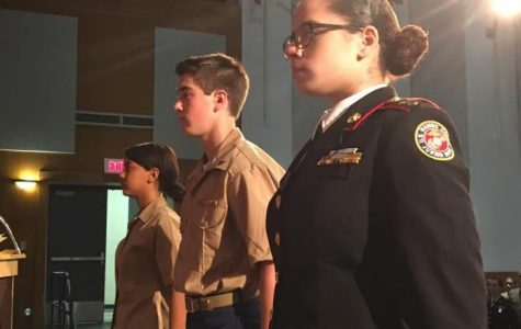 Students honored at JROTC awards night