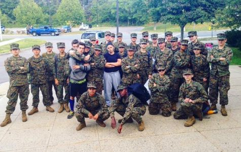 JROTC attends camping trip at Gordon College