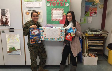GHS students host toy drive for toddlers