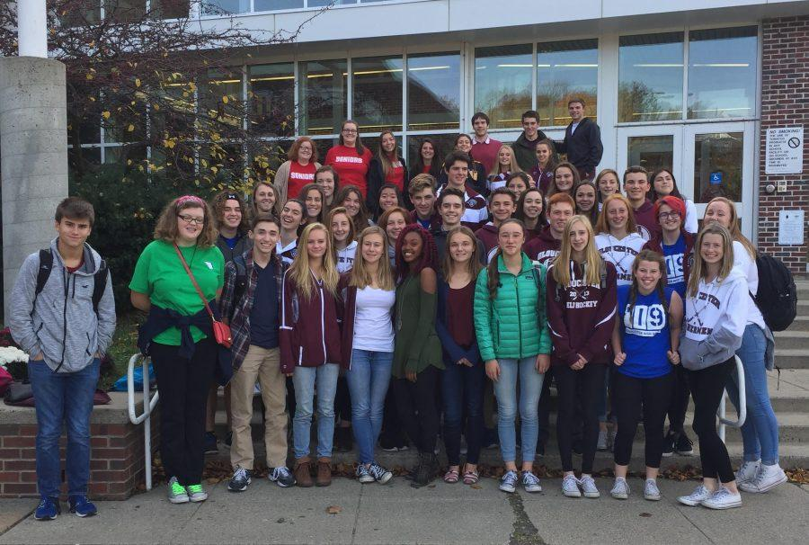 GHS+student+council+members+from+every+grade+attended+the+NEMASC+conference+at+Dracut+High+School+last++Thursday