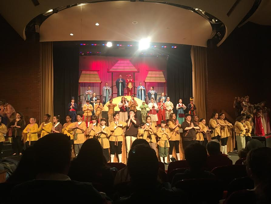 Cast of Disney's Mulan Jr. at O'Maley Innovation Middle School