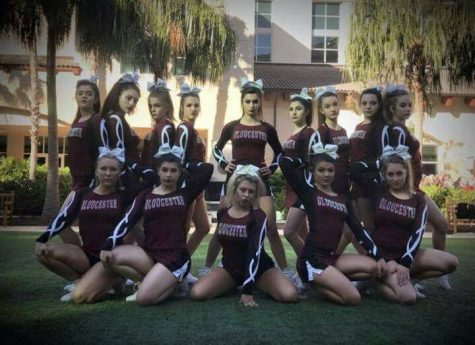 Cheerleaders stunt into first place at Nationals