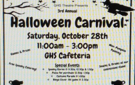 Halloween Carnival this weekend