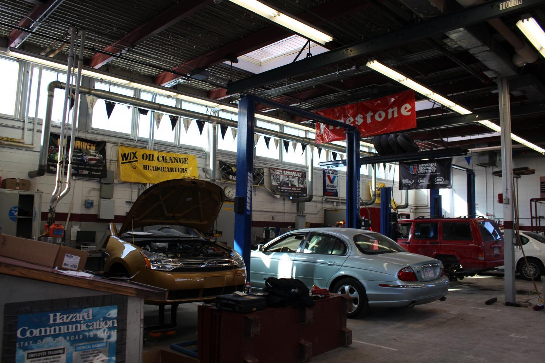 GHS auto shop