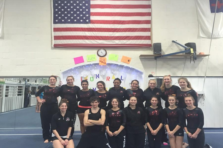 The 2015-16 Tigerfish gymnastics team