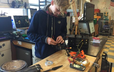 Monell engineers the future in GHS Robotics