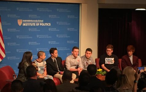 GHS Students attend panel discussion with Parkland students