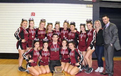 GHS cheerleaders are the New England champs