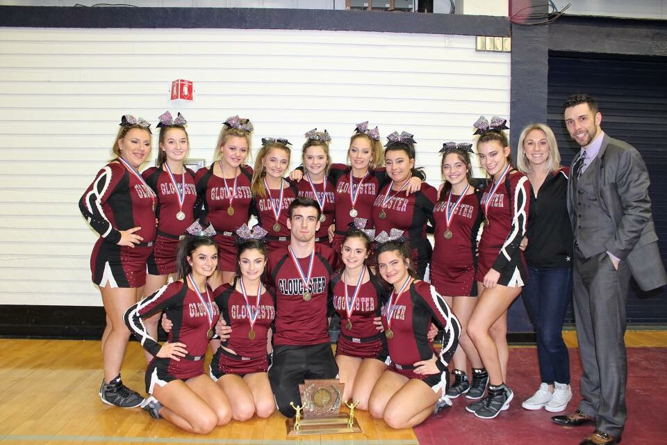 GHS cheerleaders are the New England champions this season