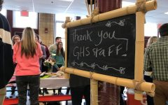 Students thank teachers with appreciation lunch