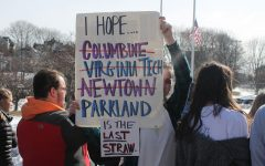 GHS students speak up and walk out against school gun violence
