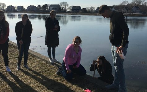 GHS students take initiative on climate change research in Gloucester