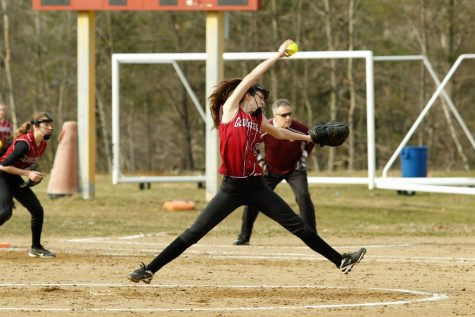 Fisherman softball plays Marblehead in battle to the top