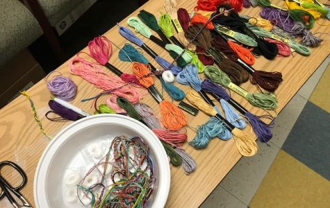 Friendship bracelets send message of gratitude