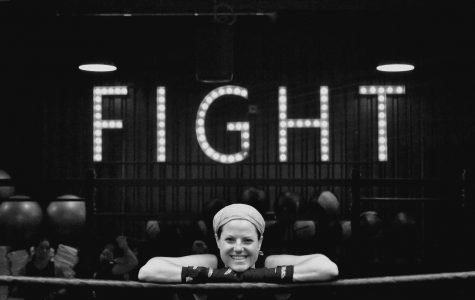 Harney enters the ring to fund cancer research