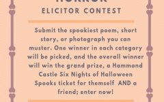 The Elicitor hosts Halloween Horror contest