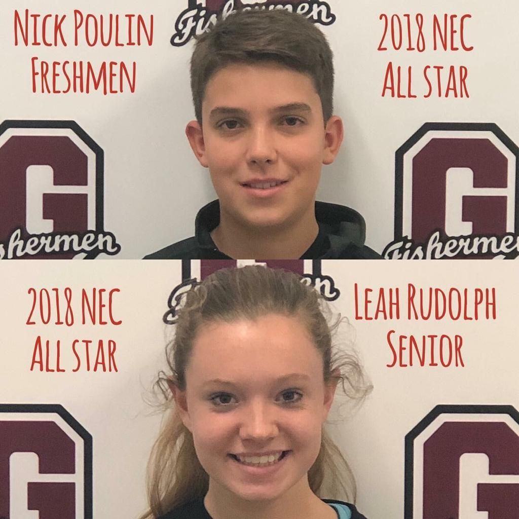 Cross Country all starts Nick Poulin and Leah Rudolph