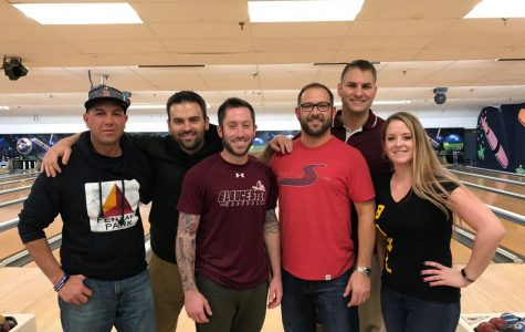 "Teachers bowl in their ""spare"" time for a good cause"