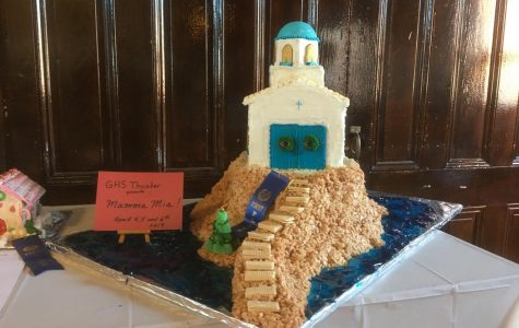 Emily and Lynne Frick's winning gingerbread-church