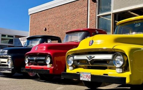 Auto students restore 1956 Ford pickups