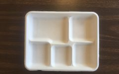 New compostable lunch trays increase cost