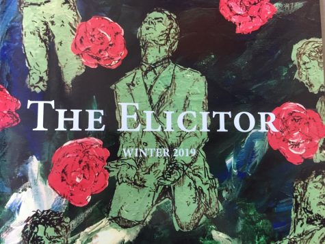 The Elicitor Winter 2019 cover by Natasha Baumgartel