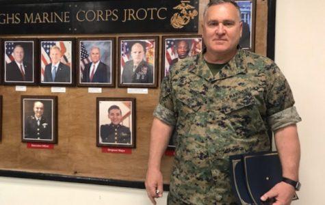 Gunner Muth leaves twenty-three year legacy as JROTC leader
