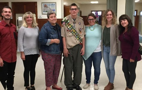 Trott soars to the rank of Eagle Scout