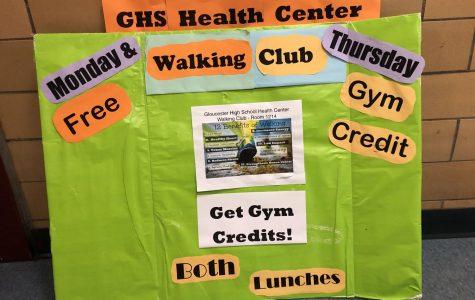 Walking club offers gym credits