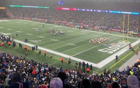 Patriots took on the Tennessee Titans on January 4th at Gillette Stadium in Foxboro