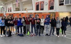 Indoor track team shows promise at Freshmen-Sophomore meet