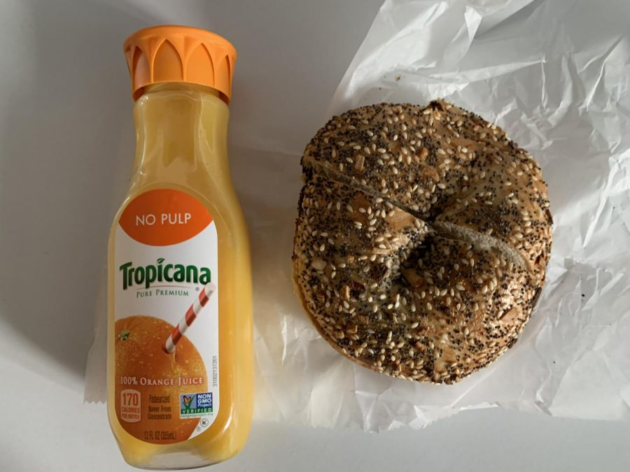 This everything bagel from Jim's ranks first on my list